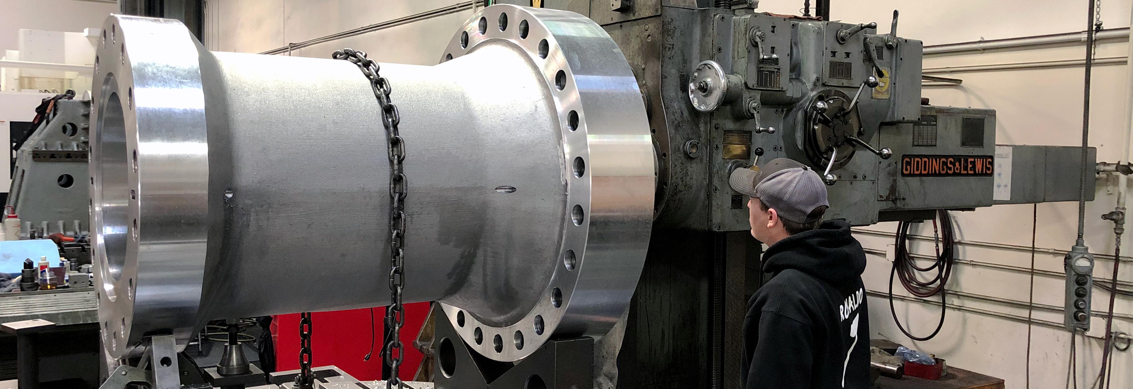 large capacity precision machining